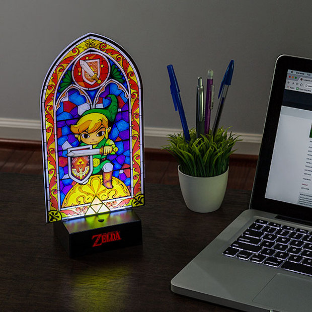 Legend Of Zelda Stained Glass Light All Are Welcome In