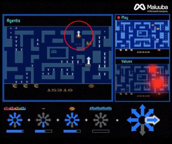 Microsoft Maluuba AI Dominates Atari 2600 Ms. Pac-Man
