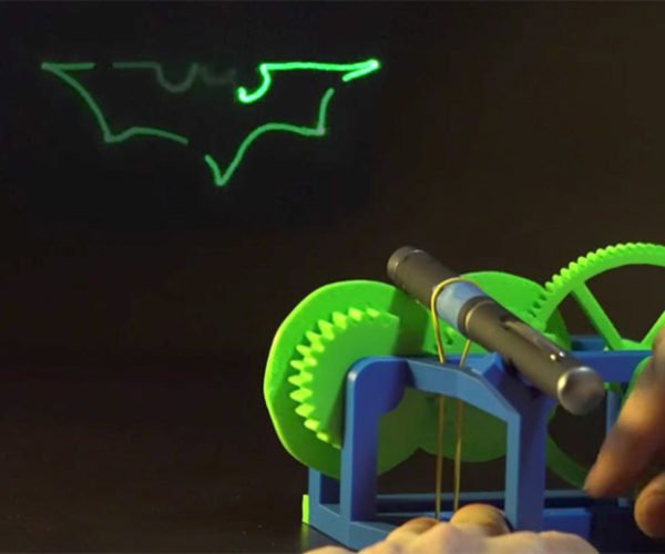 Summon Batman with This Mechanical Laser Light Show Device