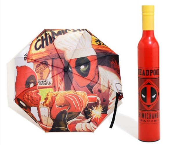 Deadpool Umbrella Is All About Chimichangas and Hot Sauce