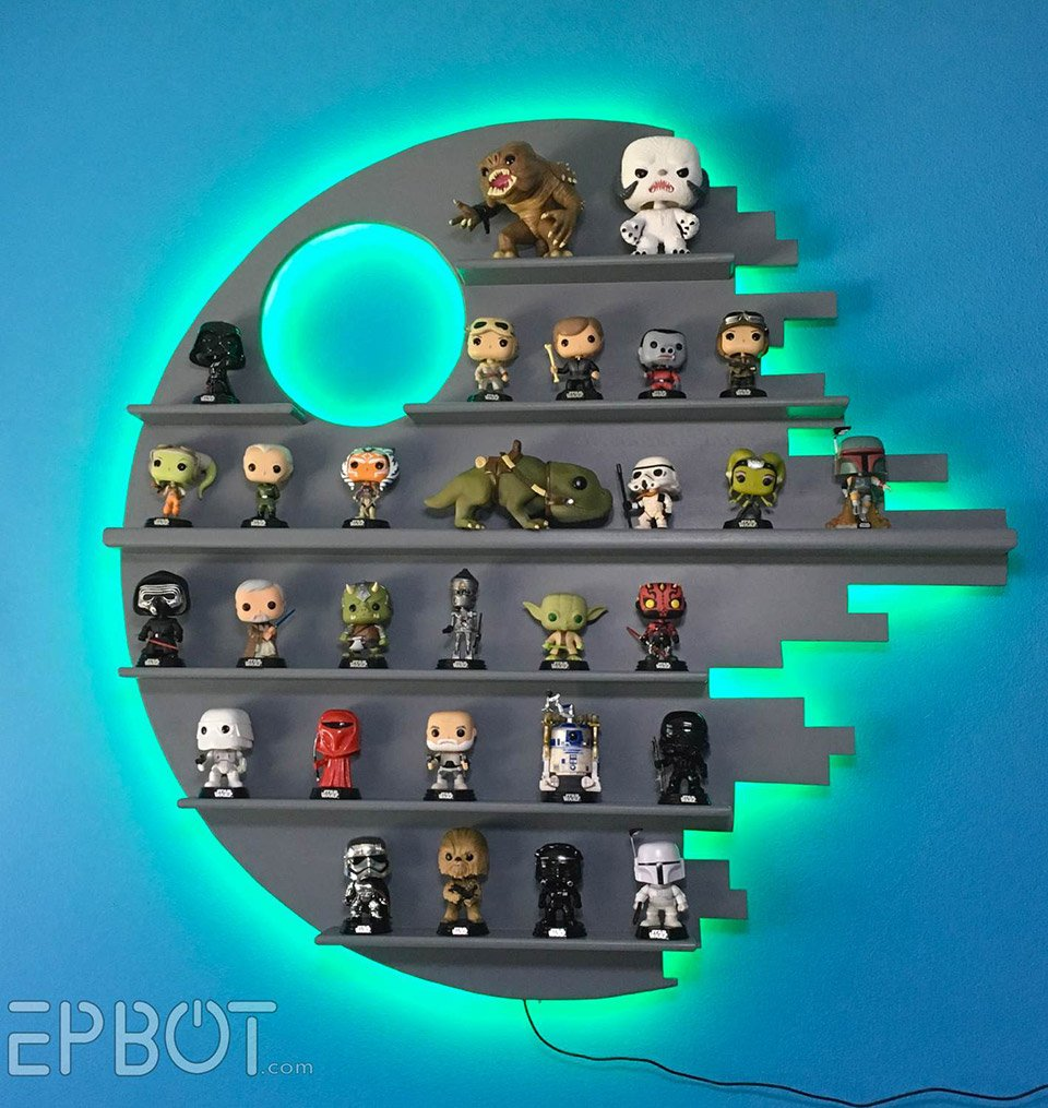 This Death Star Shelf Is Perfect for Displaying Star Wars ...