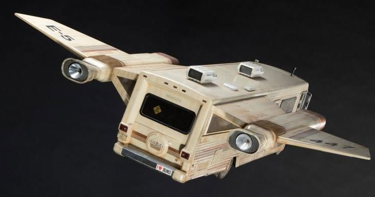 spaceballs props head  auction  ludicrous speed technabob