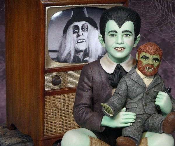 Eddie Munster Statue Is Creepy and Kooky