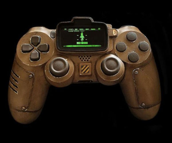 Fallout Pip-Boy PS4 Controller: Live in Your World, Play in Our Wasteland