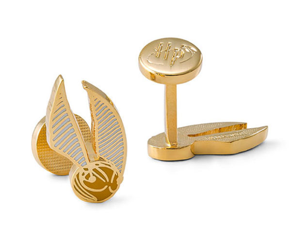 Harry Potter Golden Snitch Cufflinks for Well-heeled Wizards