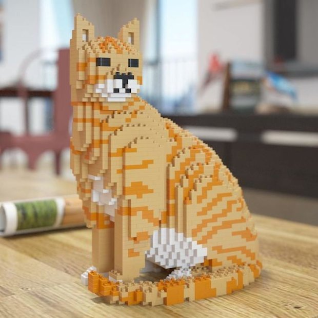 Build Your Own LEGO Style Cat - Technabob