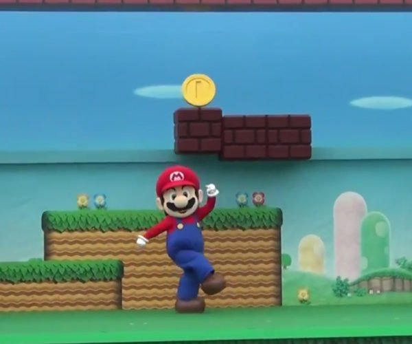 Nintendo Stages Live-action Mario Run
