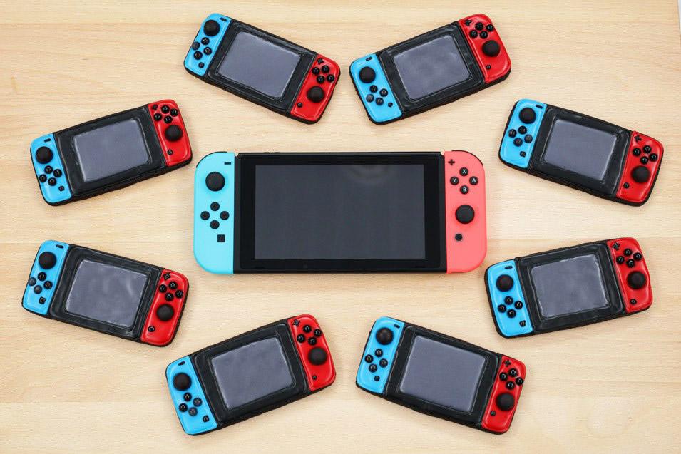 Nintendo Switch Controller Cookies: Nintendo Noms