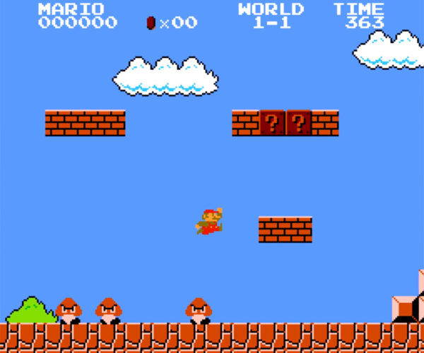 Gamer Tries to Beat Super Mario Bros. Without Coins, Kills, or Items