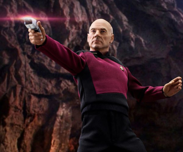 Star Trek TNG Picard Action Figure: Lets Hope It Can Facepalm
