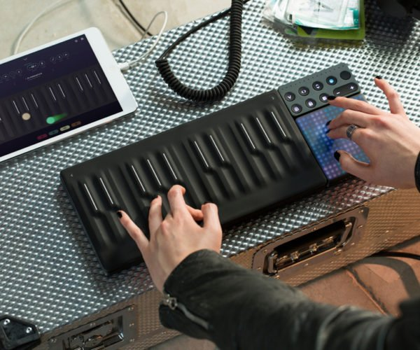 ROLI Seaboard Block Is the Coolest Music Keyboard Ever