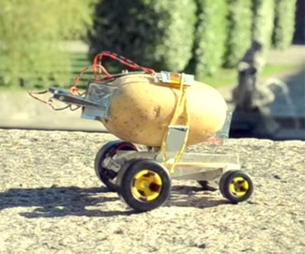 Electric Self Driving Potato: Volkswagen SpudBug