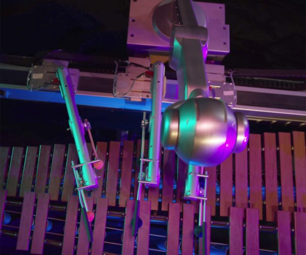 This Robot Plays the Marimba Way Better Than You Can