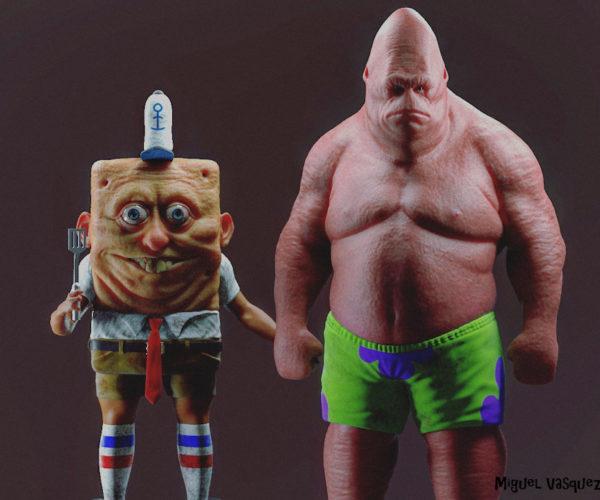 Real-Life SpongeBob and Patrick Should Never Leave Bikini Bottom