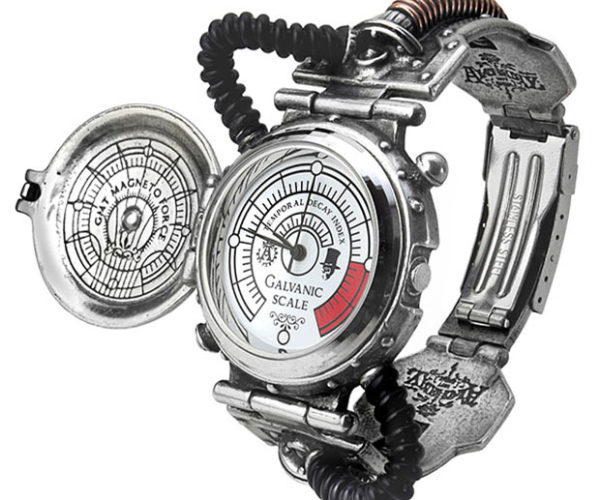 "Steampunk ""Entropy Calibrator"" Watch Looks Like it Runs on Steam"