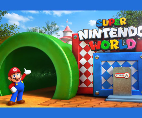 Nintendo and Universal Studios Tease Super Nintendo World Theme Park