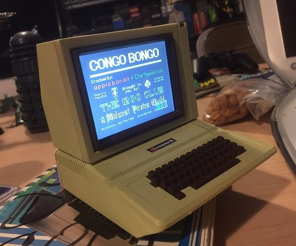 DIY Working Mini Apple II Computer