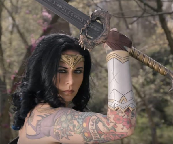 Man at Arms: Reforged Creates Wonder Woman's Sword
