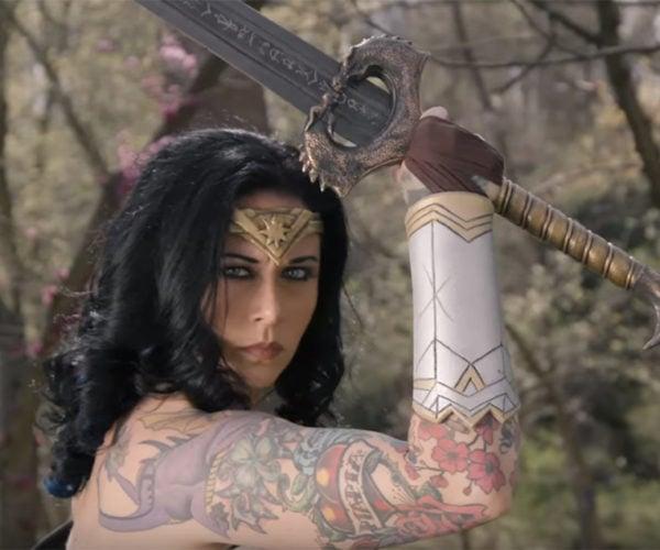 Man at Arms: Reforged Creates Wonder Woman's Sword
