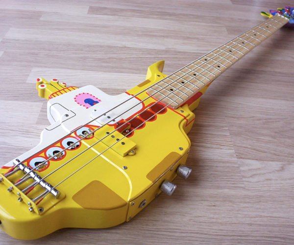 We All Live in a Yellow Submarine, Yellow Submarine, Yellow Bass Guitar