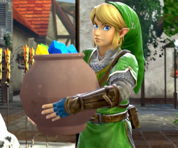 "Link Wants All the Money in ""Race for Rupees"""