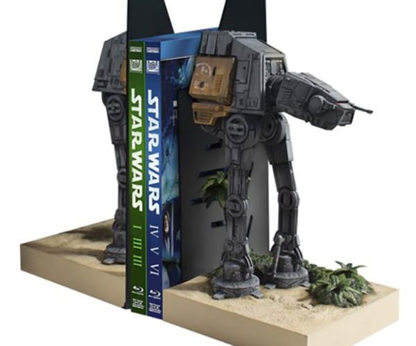 Rogue One AT-ACT Bookends Defend Your Library