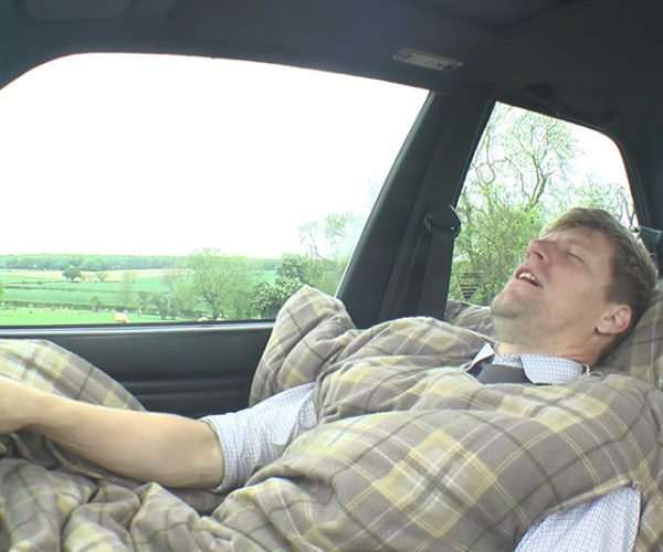 The Carvet Turns a Car into a Bed You Can Drive