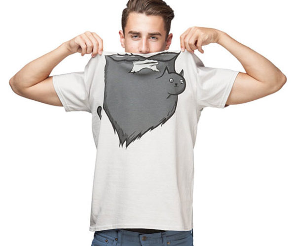 Cat Beard Shirt is Perfect for People Who Hate the Itch