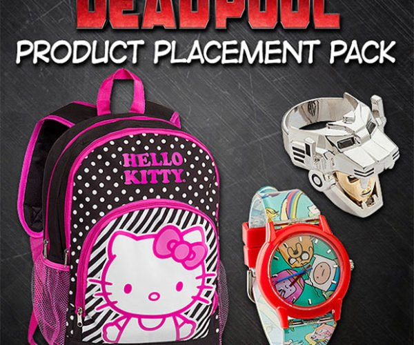 Deadpool Product Placement Pack Has No Actual Deadpool