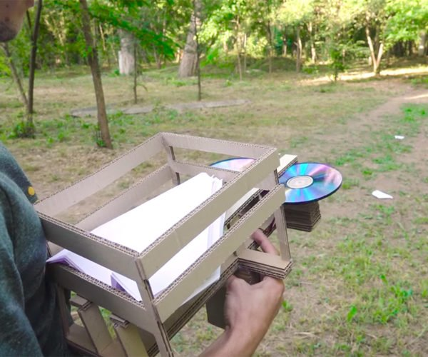 Make Your Own Cardboard Paper Airplane Launcher