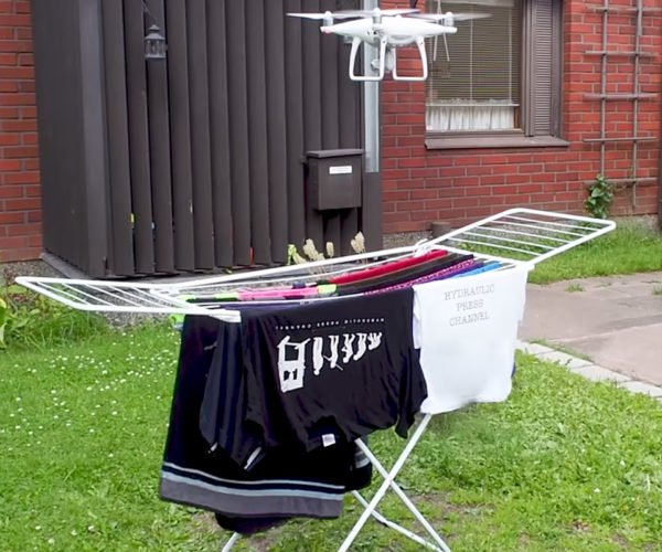 Can You Dry Clothes with a Drone?