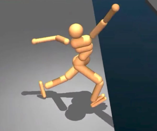 Google DeepMind Learns to Walk and Feels the Pain
