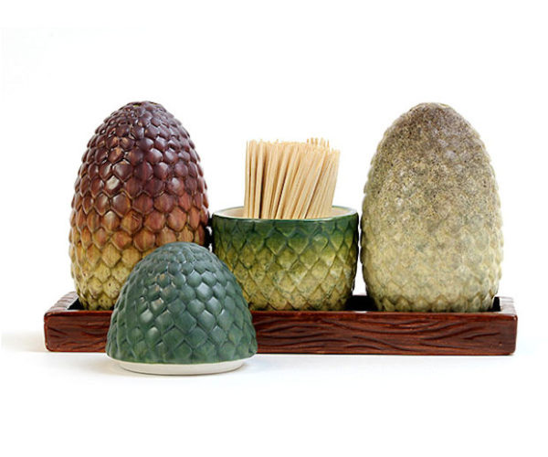 Game of Thrones Dragon Egg Salt and Pepper Shakers: Seasoning is Coming