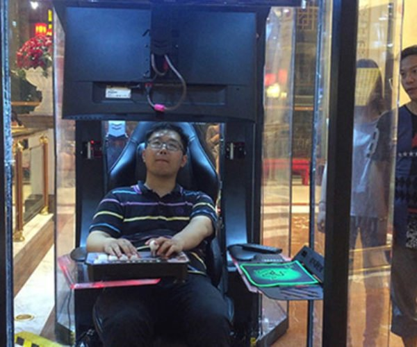 This Chinese Mall Has Storage Pods for Bored Husbands