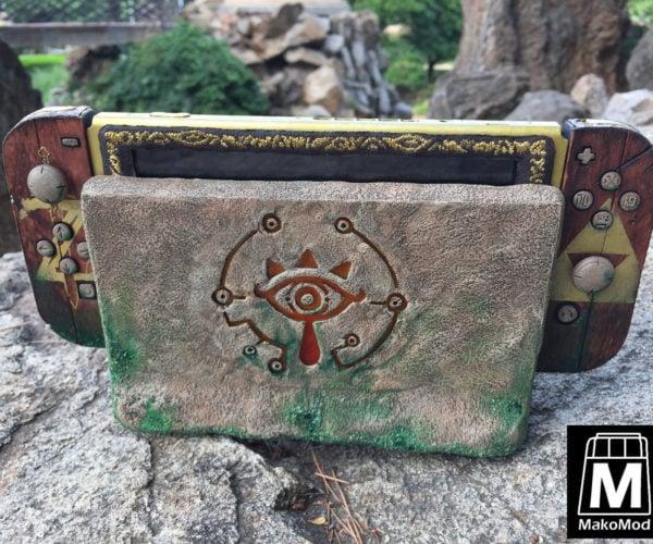 Beautiful Legend of Zelda-Themed Nintendo Switch