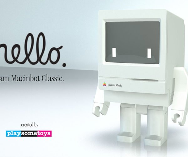 Macinbot Classic: Think Different About Your Toy Collection