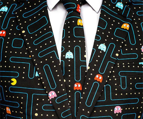 Pac-Man Opposuit: Every Girl Crazy 'Bout a Sharp Dressed Geek
