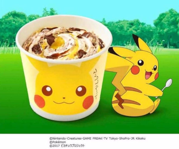 McDonalds Japan Gets Pikachu McFlurry: Tooth Decay, I Choose You!