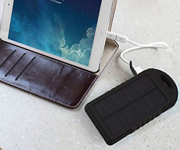 Let the Sun Charge Your Phone for You