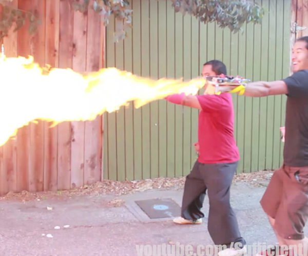 Punch-activated Flamethrowers are the Best Kind of Flamethrowers