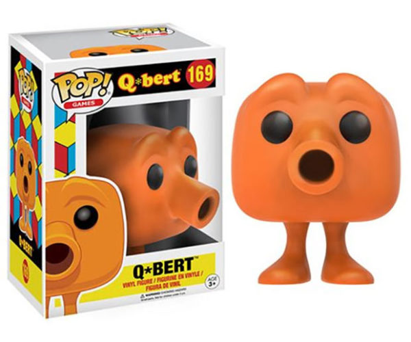 Q*Bert POP! Figure Is Way Easier to Play with Than the Actual Game