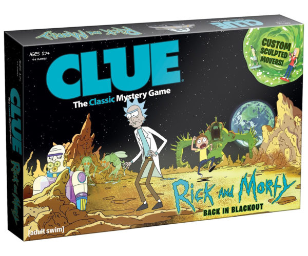 Rick and Morty Clue Includes Mr. Poopybutthole!