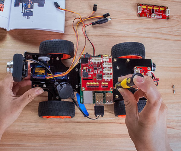 Learn to Build a Robot with This Raspberry Pi Robotics Kit
