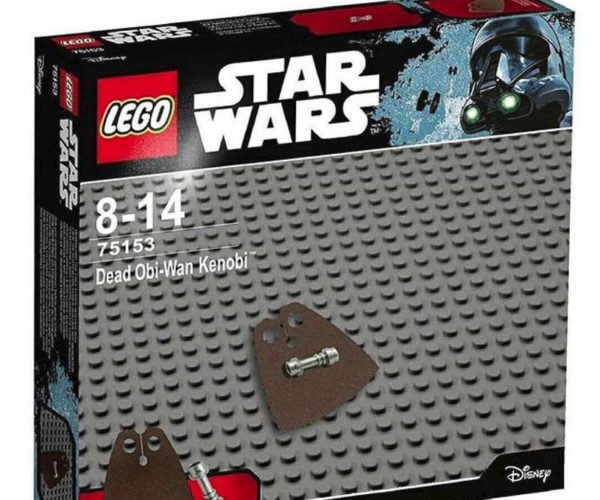 LEGO Star Wars Dead Obi-Wan Kenobi Kit Is Super Easy to Assemble