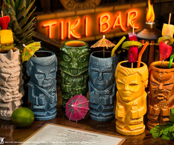 Star Trek TOS Geeki Tikis: Beam Me Up a Drink, Scotty!