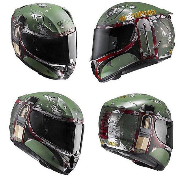 These Star Wars Motorcycle Helmets Will Protect You On