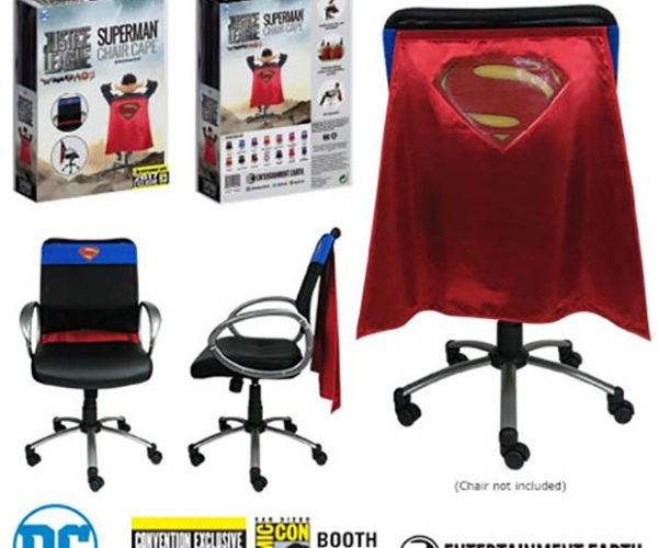 Superman Chair Cape Makes You a Super Worker