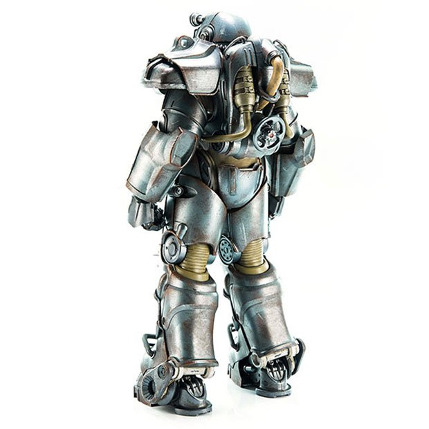 fallout 4 t 60 power armor action figure turns wallets into