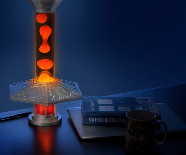 Doctor Who TARDIS Console Light Is a Lava Lamp from Gallifrey