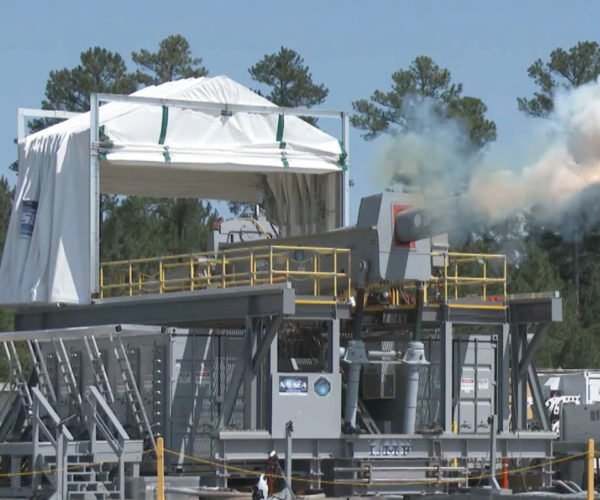 Do Not Mess with the US Navy and Its Giant Railgun